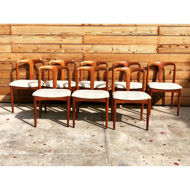 Mid-Century 'Juliane' Dining Chairs - Set of 8 - Image 6 of 6