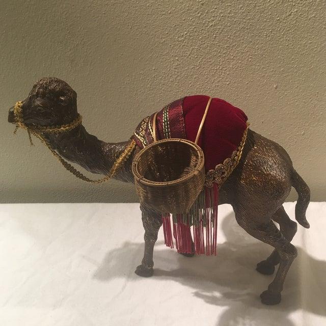 1970s 1970s Hollywood Regency Decorative Camel For Sale - Image 5 of 7