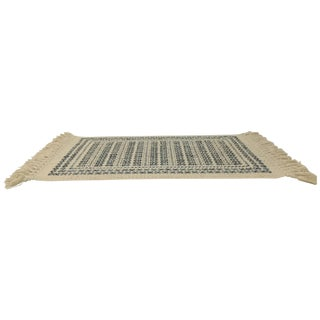"Modern Karastan Fringed Rug - 2'11"" x 6' For Sale"