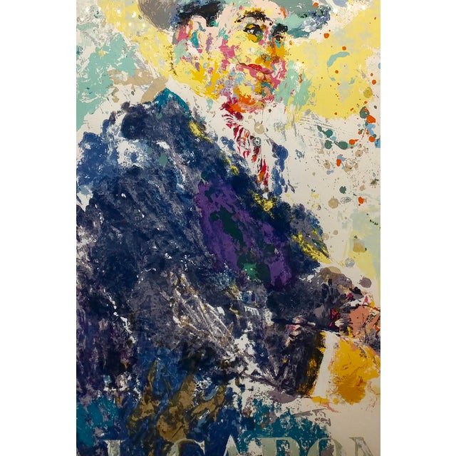 Leroy Neiman -Al Capone-Limited Edition Serigraph-Pencil Signed - Image 3 of 10