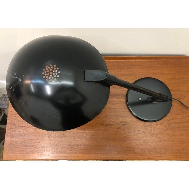 1960s Mid Century Modern Atomic Saucer Desk Lamp For Sale - Image 4 of 9