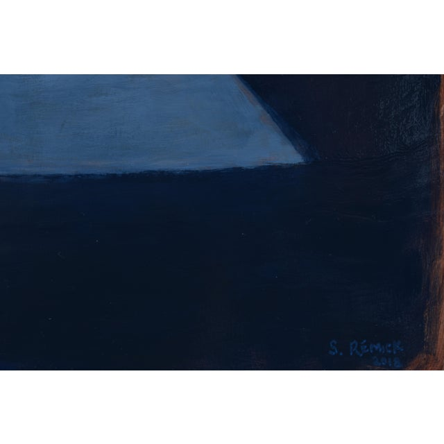 """2010s Stephen Remick """"Shelter"""" Painting For Sale - Image 5 of 11"""