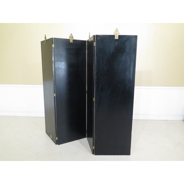 Maitland Smith Large 4 Panel Nautical Room Divider For Sale - Image 10 of 13
