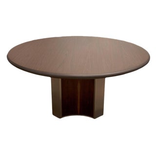 Mid-Century Modern Sergio Rodrigues Round Dining Table