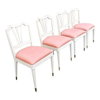 1930s Vintage Paul Frank Dinning Chairs- Set of 4 For Sale