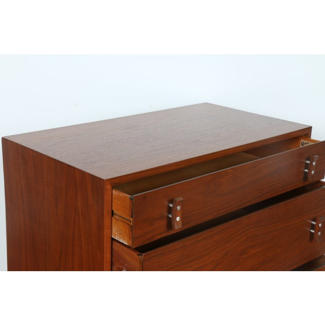 Glenn of California Walnut Chest by Stanley Young - Image 7 of 10