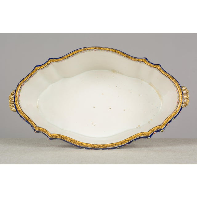 19th Century French Desvres Jardiniere For Sale - Image 9 of 10