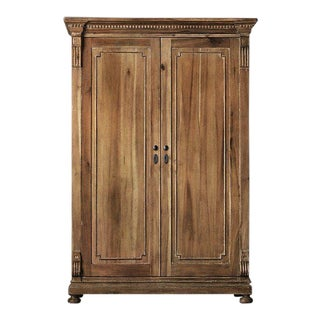 Traditional Restoration Hardware St James Armoire For Sale