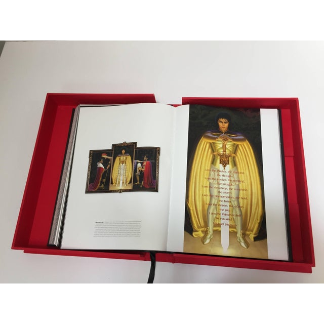 Black Michael Jackson Opus Large Collector Table Book For Sale - Image 8 of 11