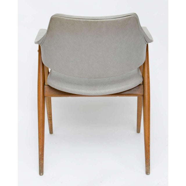 1950s Wooden MCM Chair Attributed to Paul McCobb 1950 For Sale - Image 5 of 10