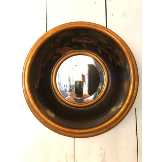 Painted Fish Round Mirror Preview