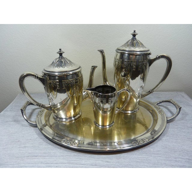 1900s Art Nouveau WMF Coffee/Tea Set - Image 2 of 11
