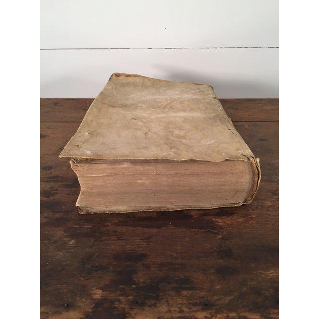 André Tiraqueau 1614 Vellum Book - Image 5 of 9