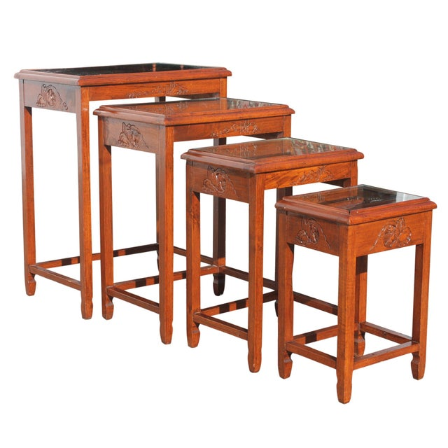 Mid-Century Modern Mid-Century Modern Nesting Tables For Sale - Image 3 of 13