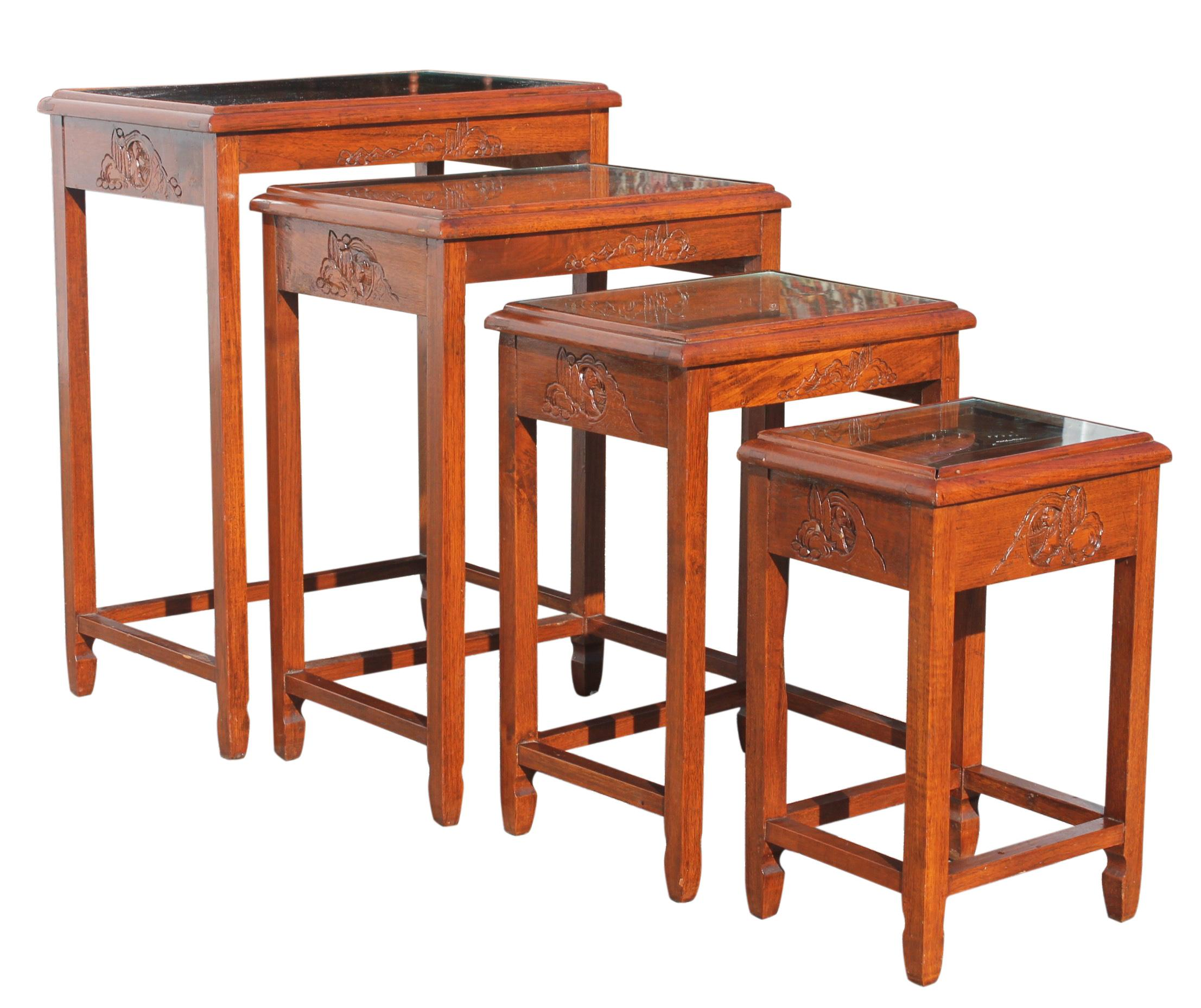 Mid Century Modern Nesting Tables   Image 3 Of 13