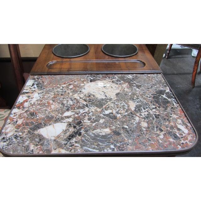 De Bournay Rafraichissoir Table With Marble Top - Image 10 of 10