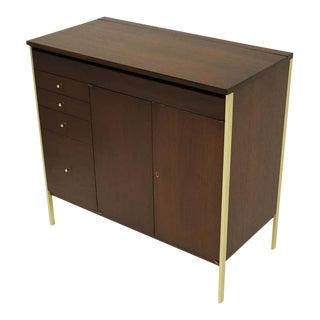 1950s Paul McCobb Locking Cabinet For Sale