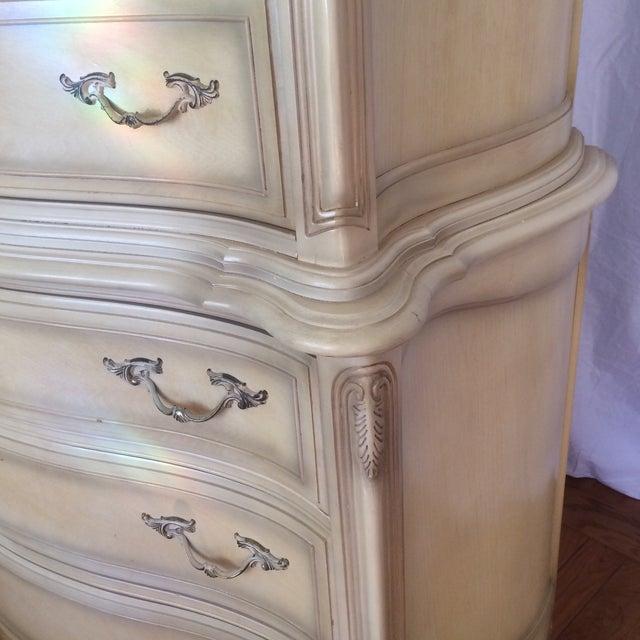 Vintage French Provincial Highboy Chest/Dresser - Image 8 of 11