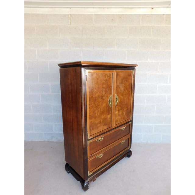 """Broyhill Premier """"Ming"""" Collection Armoire / Chest For Sale - Image 13 of 13"""