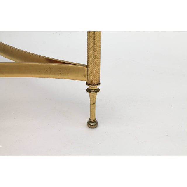 DIA Brass & Glass Side Tables - A Pair - Image 7 of 9