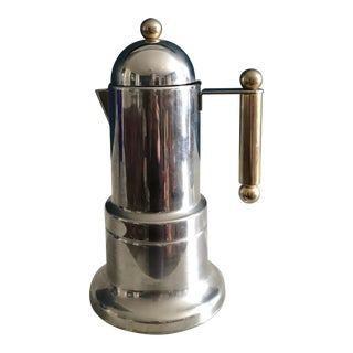 Vintage Italian Art Deco Style Small Coffee Pot
