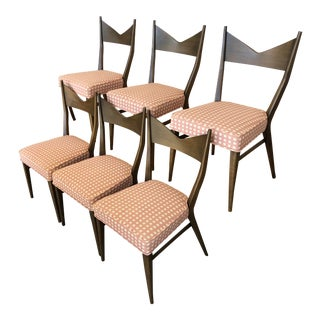 1960s Vintage Paul McCobb for Calvin Dining Chairs- Set of 6 For Sale