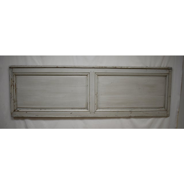 Blue 19th Century French Pine Queen Size Headboard For Sale - Image 8 of 8