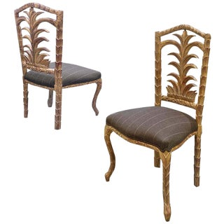 20th Century Egyptian Dining Chairs - Set of 6 For Sale