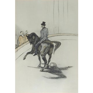 1950's Toulouse-Lautrec Horse & Rider For Sale