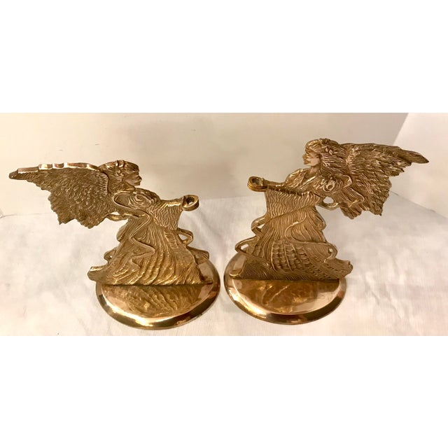 Love these Figural Angel Candle holders for the holidays! Could be also used as bookends