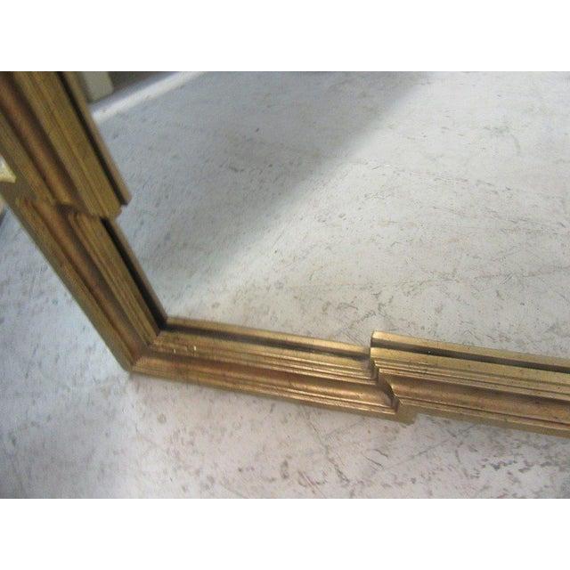 Gold Gilt Hollywood Regency Mirror - Image 6 of 7
