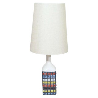 Roger Capron Table Lamp For Sale