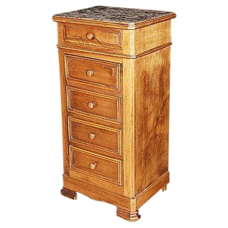 French Louis Philippe Night Table - Image 1 of 7