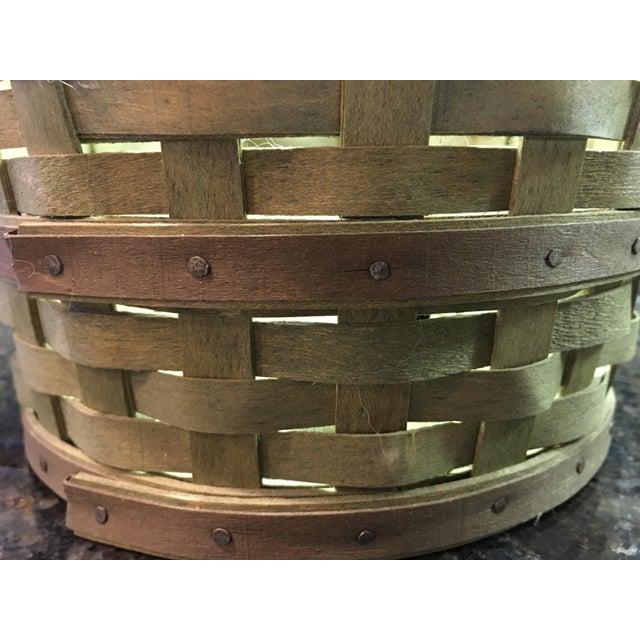 Hand-Woven Basket - Image 4 of 5