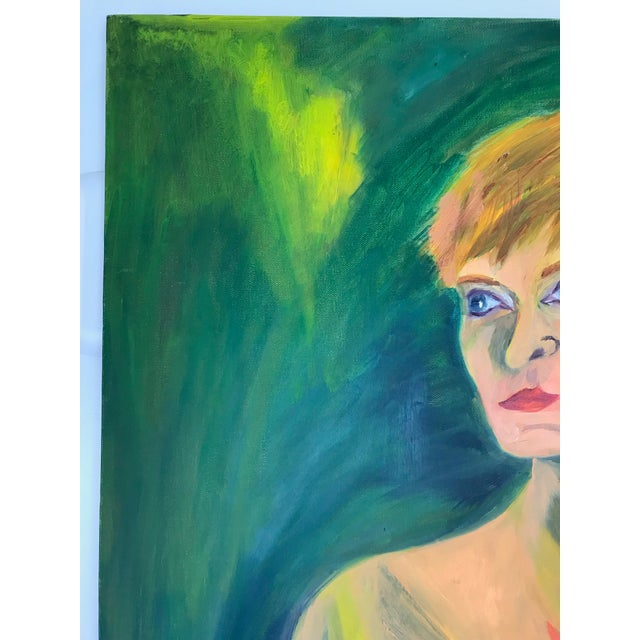 Oil Paint Contemporary Nude Woman Oil Painting For Sale - Image 7 of 11