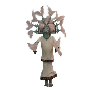 Palhik Mana Metal Kachina Wall Sculpture For Sale
