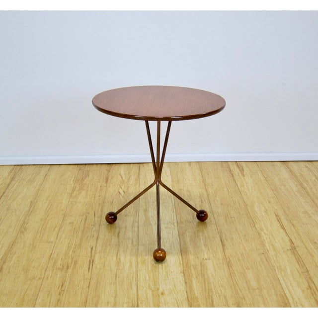 "1950s Larssons Möbelfabrik ""Table in a Jar"" Side Table For Sale - Image 13 of 13"