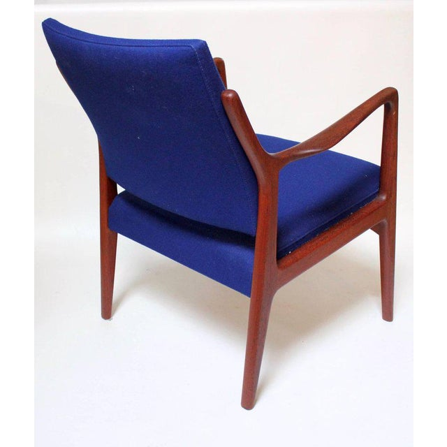 1960s Swedish Modern Teak Lounge Chair For Sale In Sacramento - Image 6 of 11