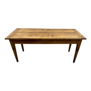 Antique French Farmhouse Dining Table,19c For Sale