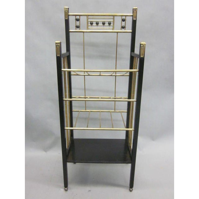 Viennese Secession Etagere / Magazine Stand in the Style of Koloman Moser For Sale - Image 10 of 10