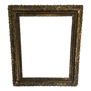 Antique Rococo Carved Frame