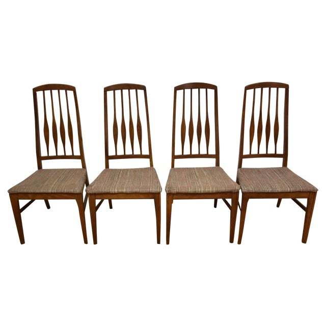 Mid-Century Keller Dining Chairs - Set of 4 - Image 1 of 11
