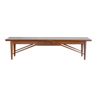 1970s Vintage Drexel Coffee Table For Sale
