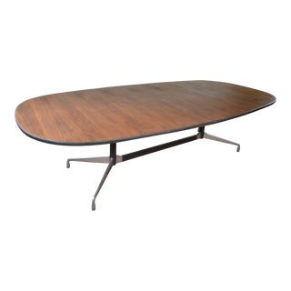 Charles & Ray Eames for Herman Miller Aluminum Group Mid Century Modern Conference Table