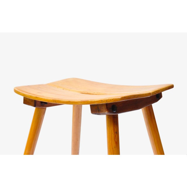 1950s Jacob Muller Stool for Wohnhilfe, Switerland 1950s For Sale - Image 5 of 7