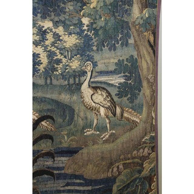 Baroque Flemish Verdure Tapestry For Sale - Image 3 of 10