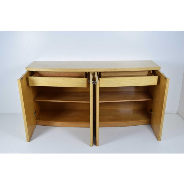 Wood Sideboard by Jay Spectre for Century For Sale - Image 7 of 10