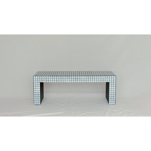 Not Yet Made - Made To Order Superstudio Origin Collection 2020 Ashen White Bench For Sale - Image 5 of 5