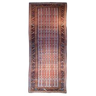 "Early 20th Century Ghashghaei Carpet - 9'8"" x 4'2"" For Sale"