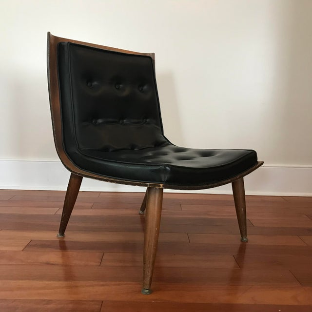 1950s 1950s Mid-Century Modern Carter Brothers Scoop Chair For Sale - Image 5 of 13